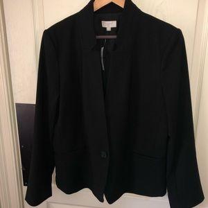 NWT S14!AnnTaylor single button blazer